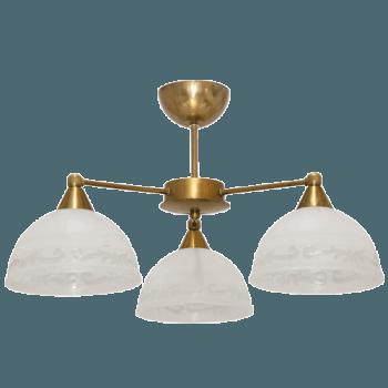 Осветително тяло за таван полилеи серия - Omega 2 gold 210013