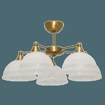 Осветително тяло за таван полилеи серия - Omega 2 gold 210015