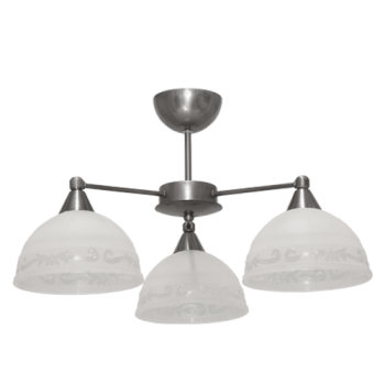 Осветително тяло за таван полилеи серия - Omega 2 Stainless Steel