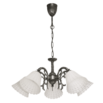 Висящо осветително тяло полилеи серия - Anna silver