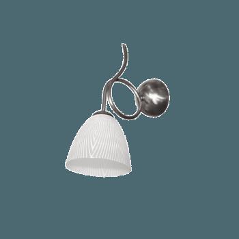 Осветително тяло за стена серия - Bergamo silver