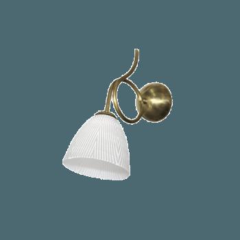 Осветително тяло за стена серия - Bergamo brass