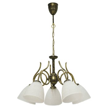 Висящо осветително тяло полилеи серия - Bergamo brass