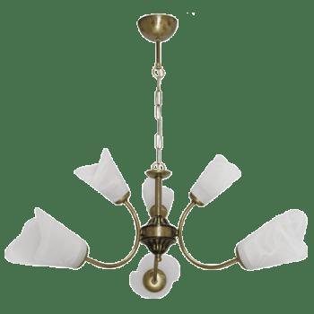 Висящо осветително тяло полилеи серия - Grande 2 brass