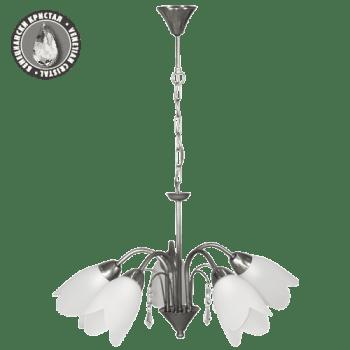 Висящо осветително тяло полилеи серия - Fiona Stainless Steel
