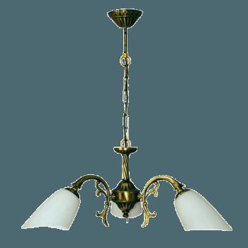 Висящо осветително тяло полилеи серия - Parla brass