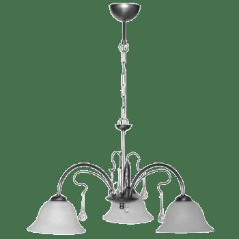 Висящо осветително тяло полилеи серия - Florence Stainless Steel