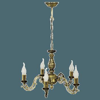Висящо осветително тяло полилеи серия - Cesar gold 205805