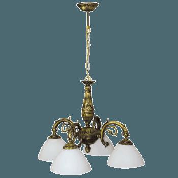 Висящо осветително тяло полилеи серия - St.Peterburg brass